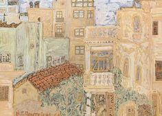 Vintage World Maps, Painter Artist, New Art, Painting, Greek Art, Vintage