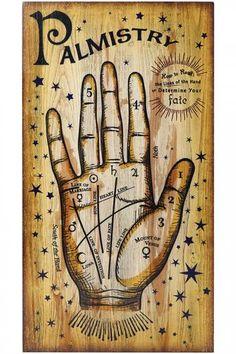 Martha Stewart Living™ Palmistry Wall Decor - Palmistry Hand - Halloween Wall…