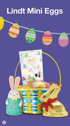 Personalized gifts are great to fill easter baskets if all kinds have a fun filled easter with lindt mini eggs a great addition to any easter basket these yummy treats are packed with solid milk chocolate with a crisp negle Image collections