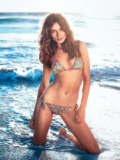 Andreea Diaconu Models Bikinis for Etam Spring 2014 Campaign