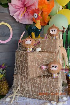 Moana Birthday Party Theme, Moana Themed Party, Frozen Theme Party, Moana Party, 6th Birthday Parties, Birthday Party Decorations, Second Birthday Ideas, Third Birthday, Festa Moana Baby