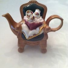 Royal Albert Old Country Roses Teapot Designed By Paul Cardew