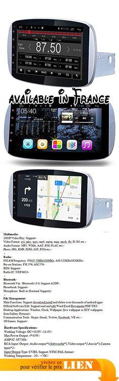 Gowe Android Quad Core GPS Navigation 22,9cm Full Touch multimédia voiture pour Benz Smart 2015–2016avec Bluetooth/RDS/Radio/Canbus/SWC. Caractéristiques 1.Android 5.0.1; 2.Processeur Quad core 1,6GHz, 1Go RAM, 4.16Go ROM; 5.1024* 600résolution d'écran; 6.mirrorlink (support Android et iPhone de téléphone et de contrôle). Caractéristiques: Système d'exploitation Android et 5.0.1fréquence: R16, quad core A9, 1,6GHz RAM: 1Go