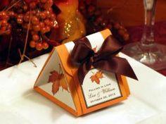 Autumn Fall Leaves Wedding - Favors - $2.99