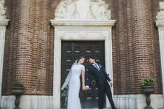 Garrison & Saval Wedding | September 2014 | Stoner Courtyard | Photography: @lovemedophoto  | Penn Museum Rentals  | www.penn.museum/weddings