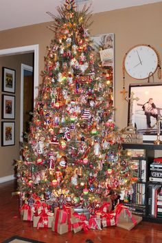 What a Christmas tree....
