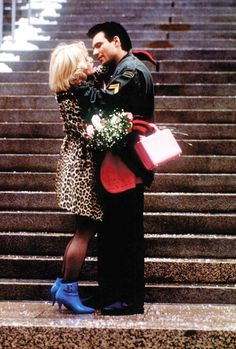 """""""That's the way romance is. Usually, that's the way it goes, but every once in awhile, it goes the other way too. Christian Slater, True Romance, Romance Movies, The 1975, Patricia Arquette, Image Film, Courthouse Wedding, Tumblr, Thats The Way"""