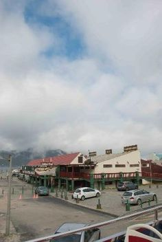 The touristy end of Hout Bay