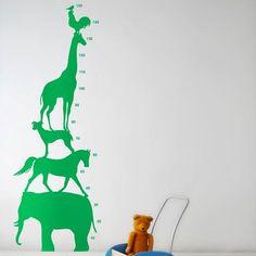 Animal Tower Wallsticker