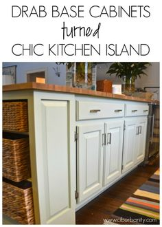 This minor kitchen update has changed this kitchen 100%! Replacing a dated pass through island for this Restore fixer upper was easy and…