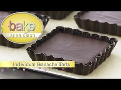 Chocolate Ganache Recipes - Bake with Anna Olson - Season 1 - Episode 14 Chocolate Pumpkin Bread, French Chocolate, Chocolate Ganache, Chocolate Recipes, Anna Olson, Oswaldo Gross, Donut Filling, Molten Cake, Flourless Cake