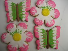 cookie favours by decadent cookie, via Flickr