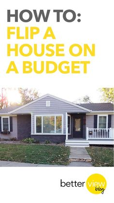 How to Flip a House on a Budget. James Baldi Somerset Powerhouse- Realtor Powerhouse Real Estate Network - Supreme Realty Pros Real Estate Broker offering commission in Massachusetts , Realtors in MA , Real estate Agent in MA , Real estate Companies in MA