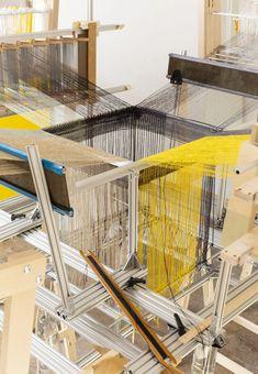 "3D textiles could ""replace concrete"" in construction says Hella Jongerius Experiment, Weaving Machine, Interactive Installation, Article Design, Building Materials, Concrete, Cement, Places Around The World, Solar Panels"