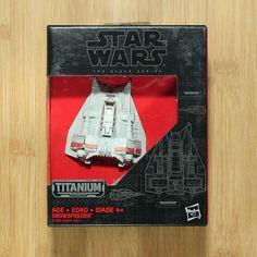 Star Wars The Black Series Titanium Vehicles /& Starships Die-Cast Painted New