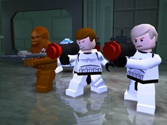 great image for a lego star wars party