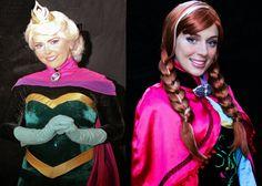 Elsa e Anna, elas existem de verdade! FROZEN by Andrea Tatata - personag...