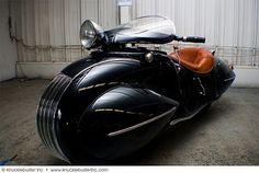 1930 Henderson MOTORCYCLE   Art Deco Masterpiece