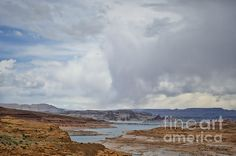 """Glen Canyon Page AZ X"" http://1-david-gordon.artistwebsites.com/featured/glen-canyon-page-az-x-dave-gordon.html #prints #landscape #color #AZ #DaveGordon #photography #Page #art"