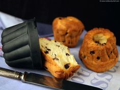 Mini-Kouglof Baking Recipes, Healthy Recipes, Healthy Food, Bon Dessert, Muffin, Brunch, Nutrition, Bread, Cooking