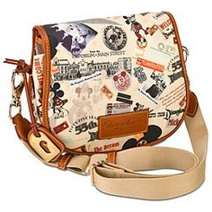 Disneyland 55th Anniversary Messenger Bag by Dooney & Bourke -- Small! What's my dream Dinsey Dooney? This. This is it.
