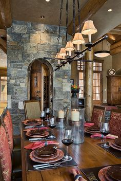 Hurricane Light Wine Room Door In Kitchen Dining And Wall