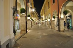 I portici a sera - CAVA DE TIRRENI - ITALY