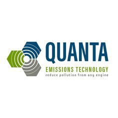 Quanta Emissions Technology logo by Shew Design