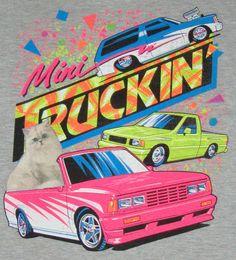 Old Skool mini truck shirt