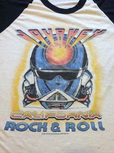 Vintage 1983 JOURNEY Tshirt/ Original LOS by sweetVTGtshirt, $90.00