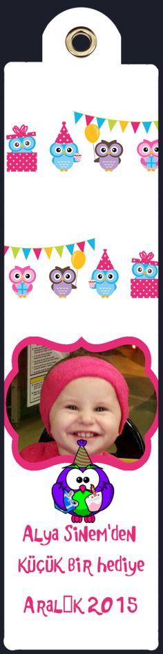 Doğum Günü Magnetleri Fotomagnet Kargo Bedava - Temalı Parti Süsleri > Bebek Mevlüdü & Hoşgeldin bebek. > Baykuş Ailesi Tema > Baykuş Ailesi Kitap Ayracı