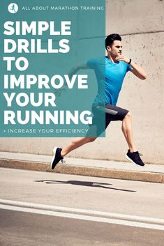 Running drills will effectively enhance your running form, speed and efficiency and take only about minutes to reap the benefits! Here are some drills for you to try! Running Drills, Running Form, Running On Treadmill, People Running, Running Workouts, Running Tips, Beginner Running, Learn To Run, How To Start Running