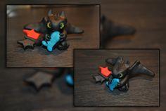 Toothless by KirstenBerryCrafts.deviantart.com on @deviantART