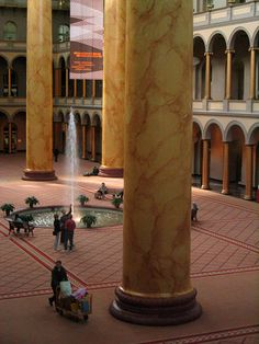 National Building Museum | childhood memories with my dad