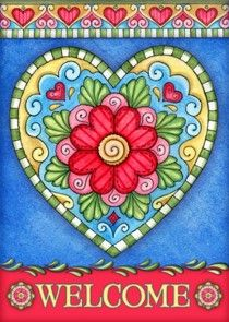 Welcome Pictures, Mary Engelbreit, Tole Painting, Heart Art, Whimsical Art, Zentangle, Painted Rocks, Folk Art, Coloring Pages