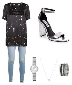 """""""Silver"""" by washingtonkellie on Polyvore featuring Levi's, Alexander Wang, Links of London, Bernard Delettrez and Emporio Armani"""