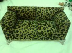 Porta Couch Sofa Motiv Gefleckt Grn