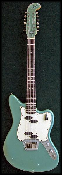 1965 Fender XII ...such a weird looking headstock! It's verging on a banana or hockey stick...kind of a melding of the two