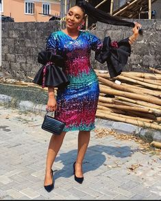 Check out unique latest ankara styles for ladies. What's not to love about ankara styles? They are simply gorgeous and can make. African Dresses For Kids, African Wear Dresses, Latest African Fashion Dresses, African Print Fashion, African Attire, Ankara Fashion, Latest African Styles, Africa Fashion, African Prints