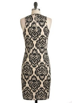 Stylish to the Decor Dress, #ModCloth love this!