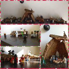 Ya llegan ya casi están aquí!!  #navidad #christmas #belen #santa #santaclaus #reyesmagos #starwars #lightside #darkside #Lego #instalego #legogram #afol #minifigure