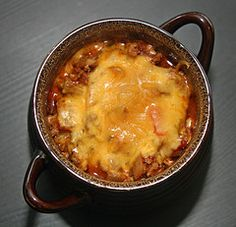 Rockin' turkey chili -- this might be the best turkey chili you ever eat.  Seriously.