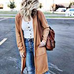 Even though I am not at all ready for the temperatures to change. I am however a total sucker for Cardigans! I picked this one up at , and i think i will soon need one on every color ! I will link it in my stories 😍 Fall Winter Outfits, Autumn Winter Fashion, Hot Blondies, Dress To Impress, What To Wear, Style Me, Duster Coat, Cute Outfits, Casual