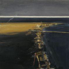 Ørnulf Opdahl: Vinterlys Alnes, 2009, 175 x 175 cm