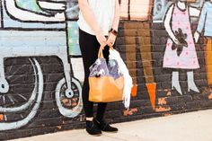 The Better-Than-Basic Bag Pattern by SewFearless.com, photo by Kat Schrodt