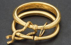 Viking age / Gold bracelet / Sweden