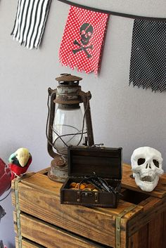 – Kara's Party Ideas – The Place for All Things Party The post Captain Hook Pirate Party appeared first on Paris Disneyland Pictures. Pirate Halloween, Pirate Day, Pirate Birthday, Pirate Theme, Decoration Pirate, Pirate Party Decorations, Deco Pirate, Pirate Flags, Ideas Party