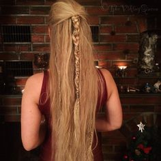 """""""Been thinking about doing some hair tutorials now that I have a brand new mac n' everything It could be good fun...Whatcha think? ⚡️#viking…"""""""