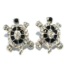 Turtle Stud Earrings Super cute and fun to wear.  You'll love the sparkle.  Good quality Accessory Jewelry Earrings