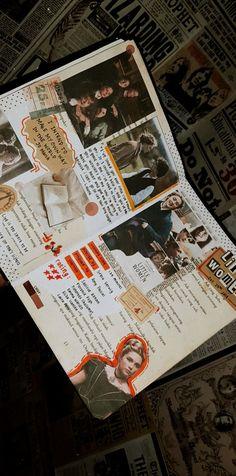 Bullet Journal Films, Music Journal, Bullet Journal Lettering Ideas, Bullet Journal Aesthetic, Bullet Journal Writing, Scrapbook Journal, Bullet Journal Ideas Pages, Bullet Journal Inspiration, Art Journal Pages